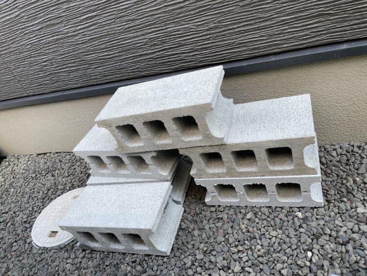 コンクリートブロックの画像